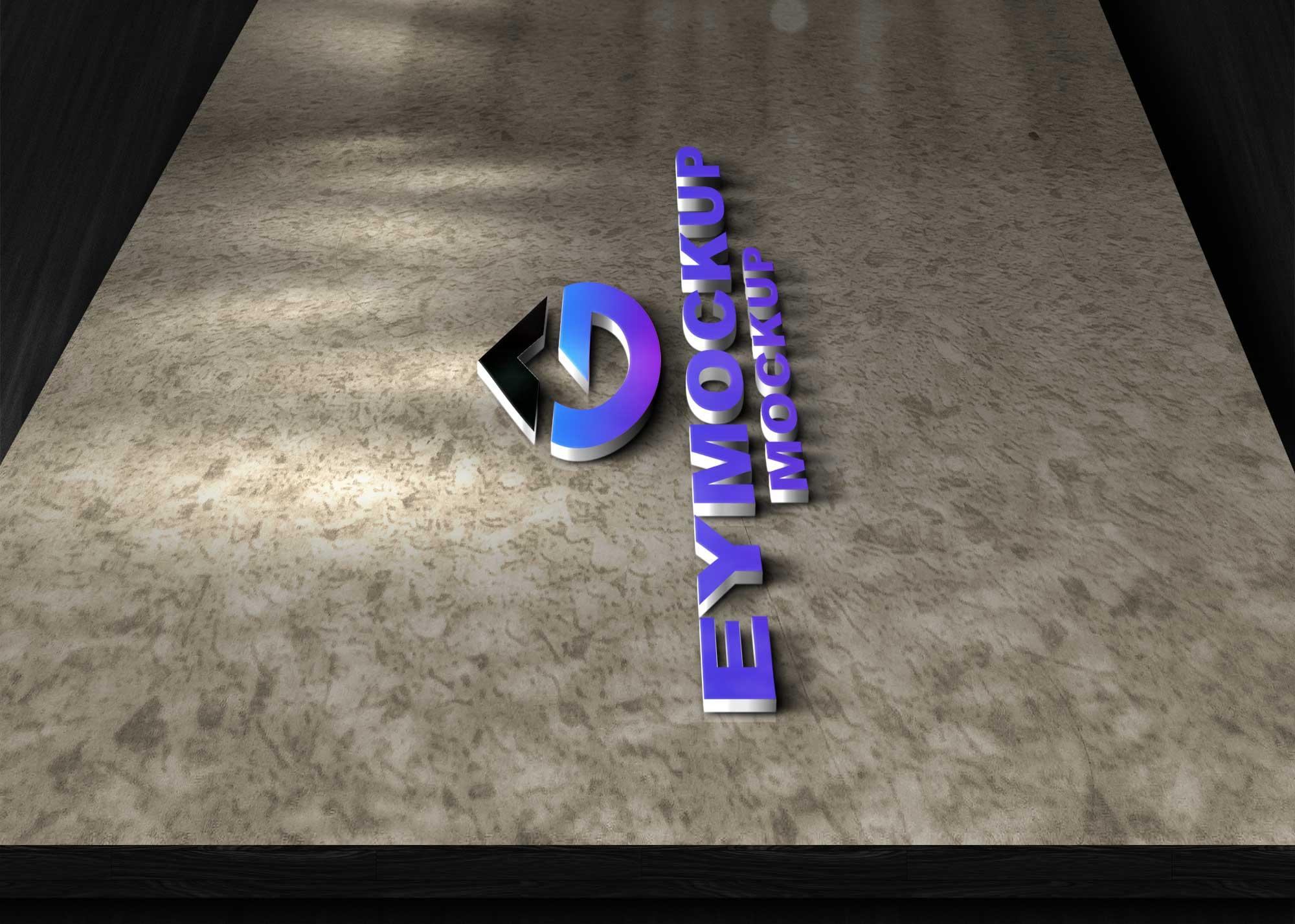 Best 3D Logo Mockup