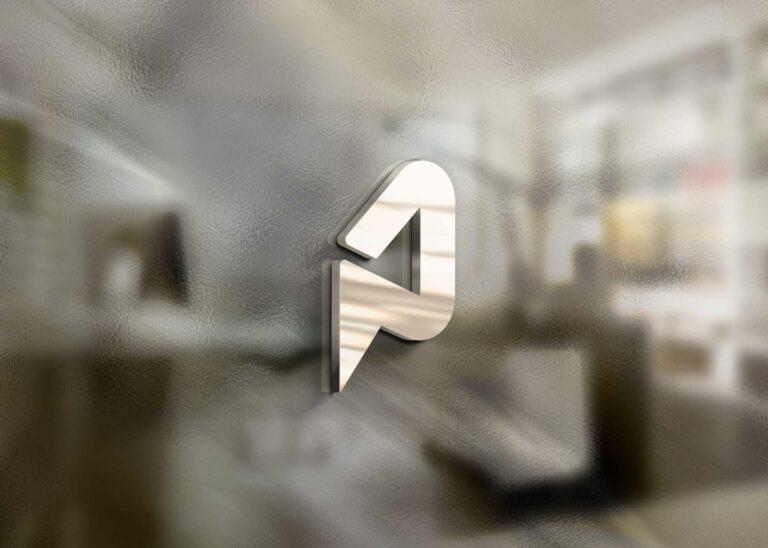 3D Effect Freebies Logo Mockup