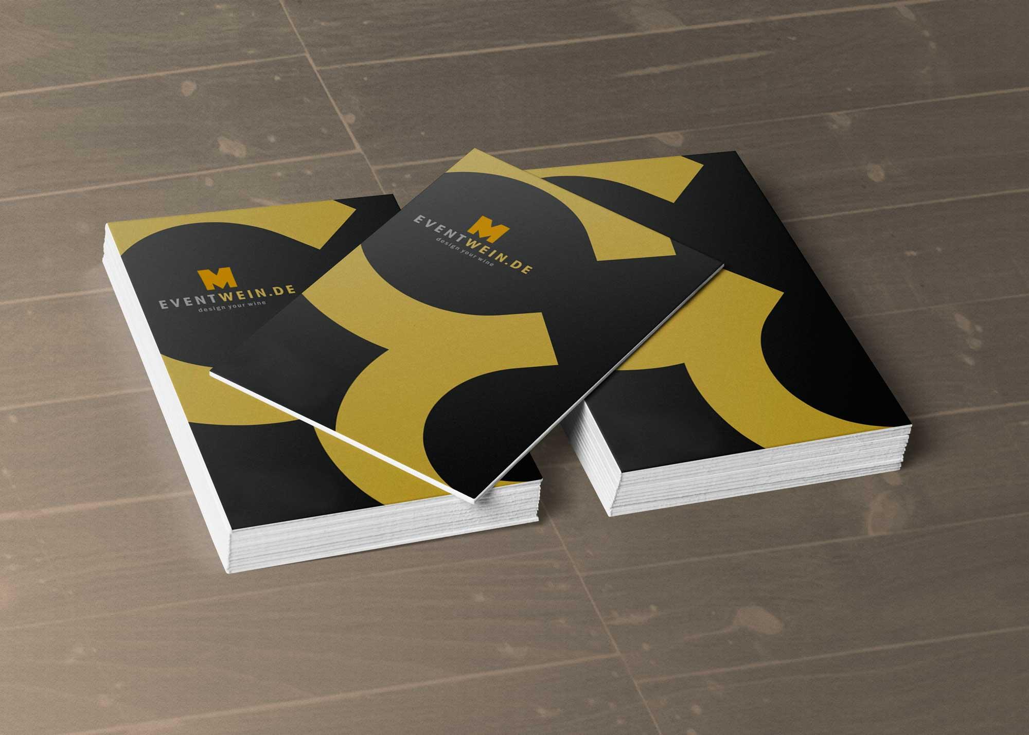 Business Card Top Mockup