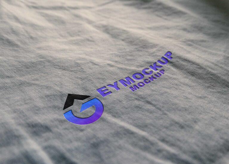 Clothes Emboss Logo Mockup