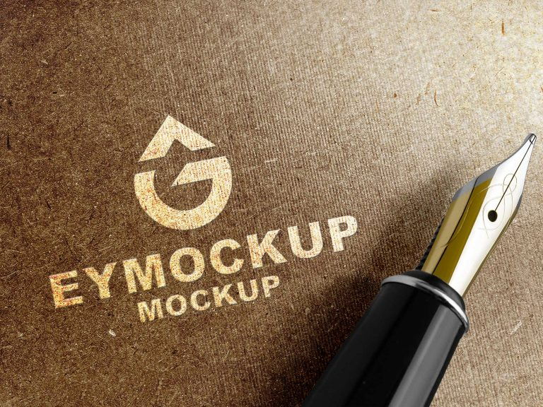 Famous 3D Logo Mockup