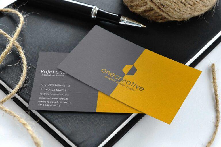 Business Card Mockup PSD Designs
