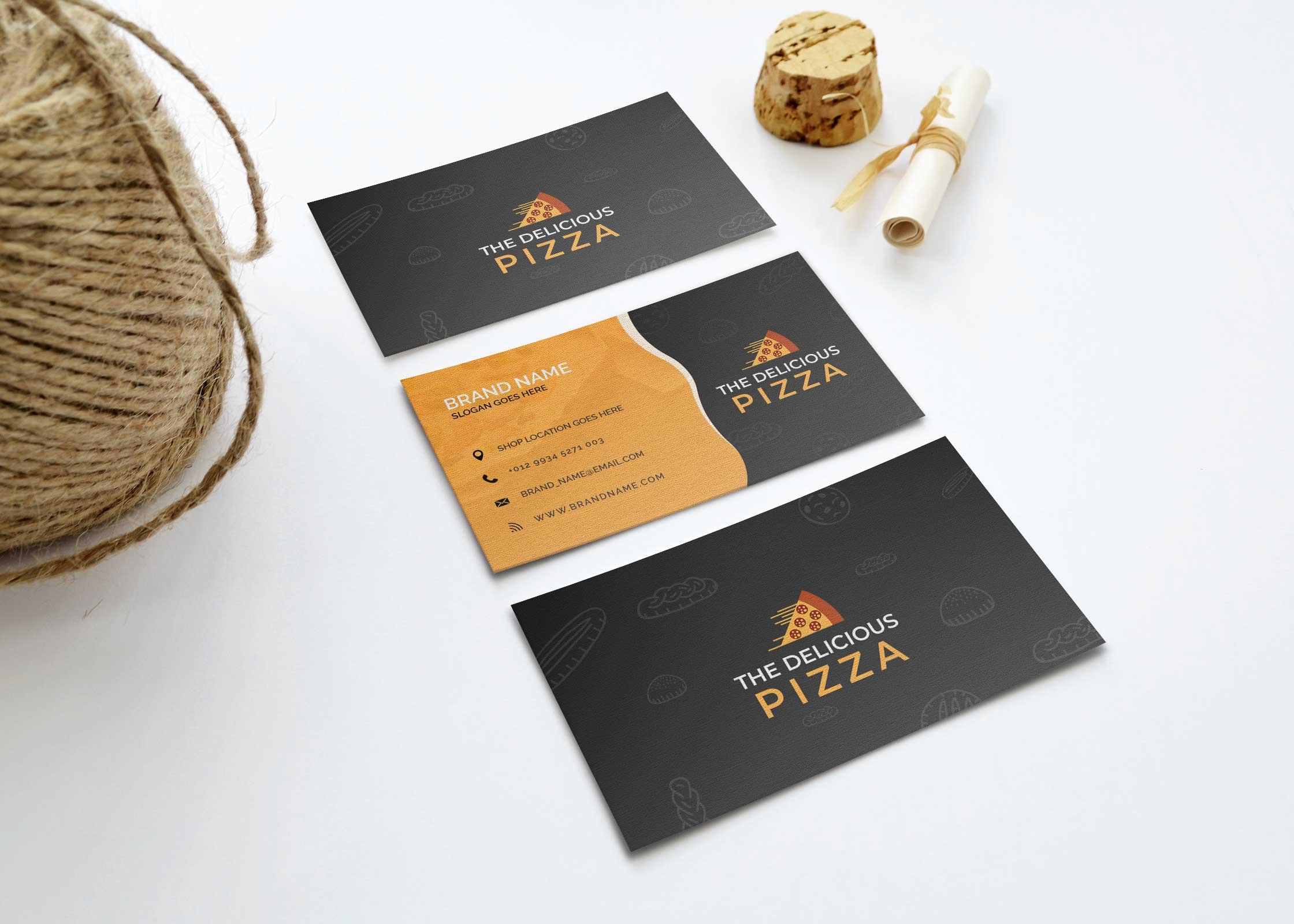Item Business Card Mockup