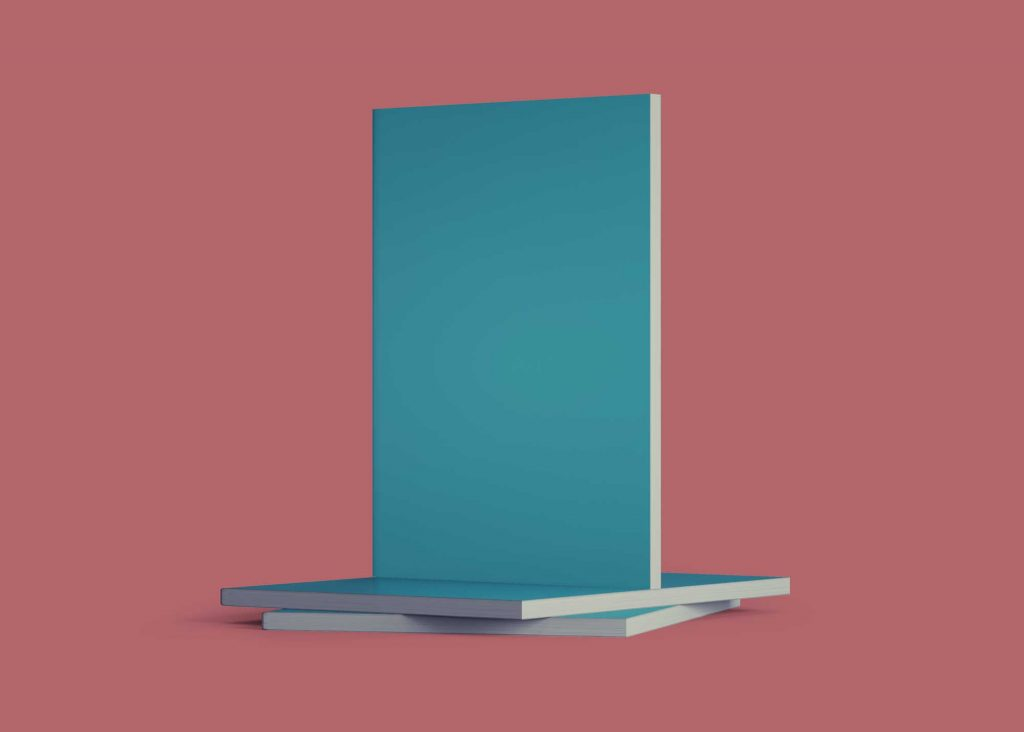 Free Standing Book Cover Mockup