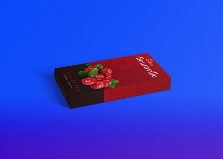 Freebies Box Packaging Mockup