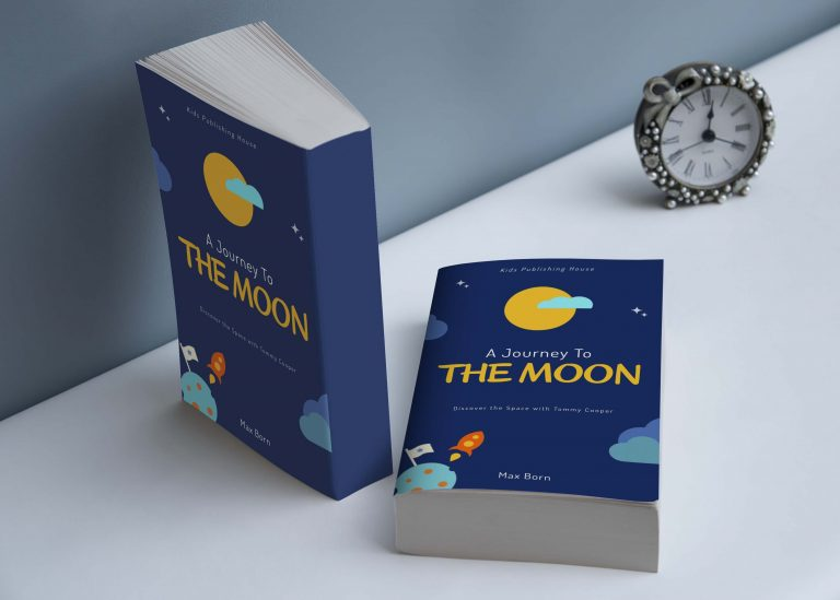 Cool Book Cover Mockup
