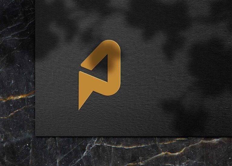 Freebies G 3D Logo Mockup