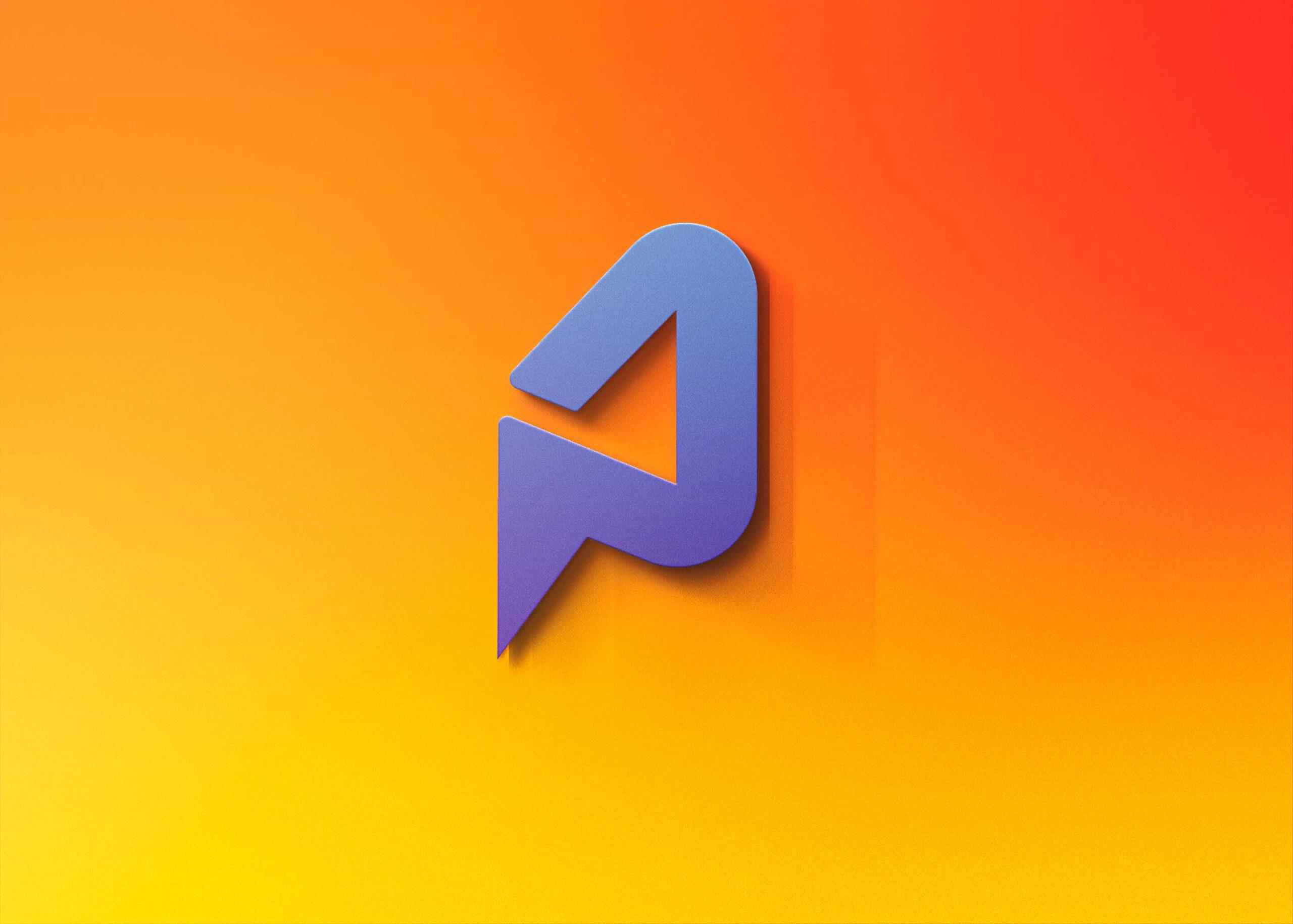 Freebies New 3D Logo Mockup