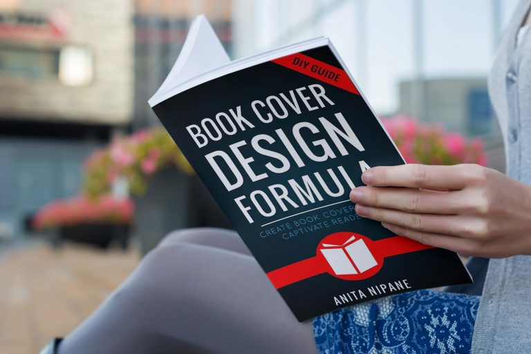 Open Book Cover Mockup