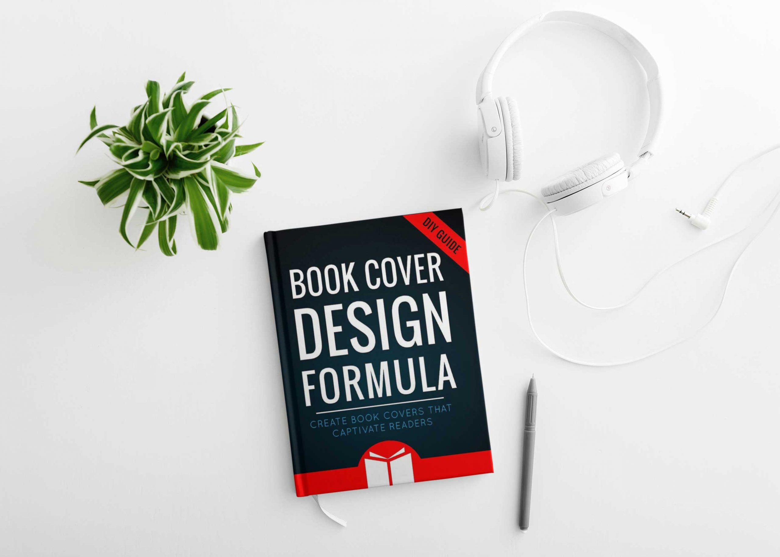 PSD Book Cover Mockup