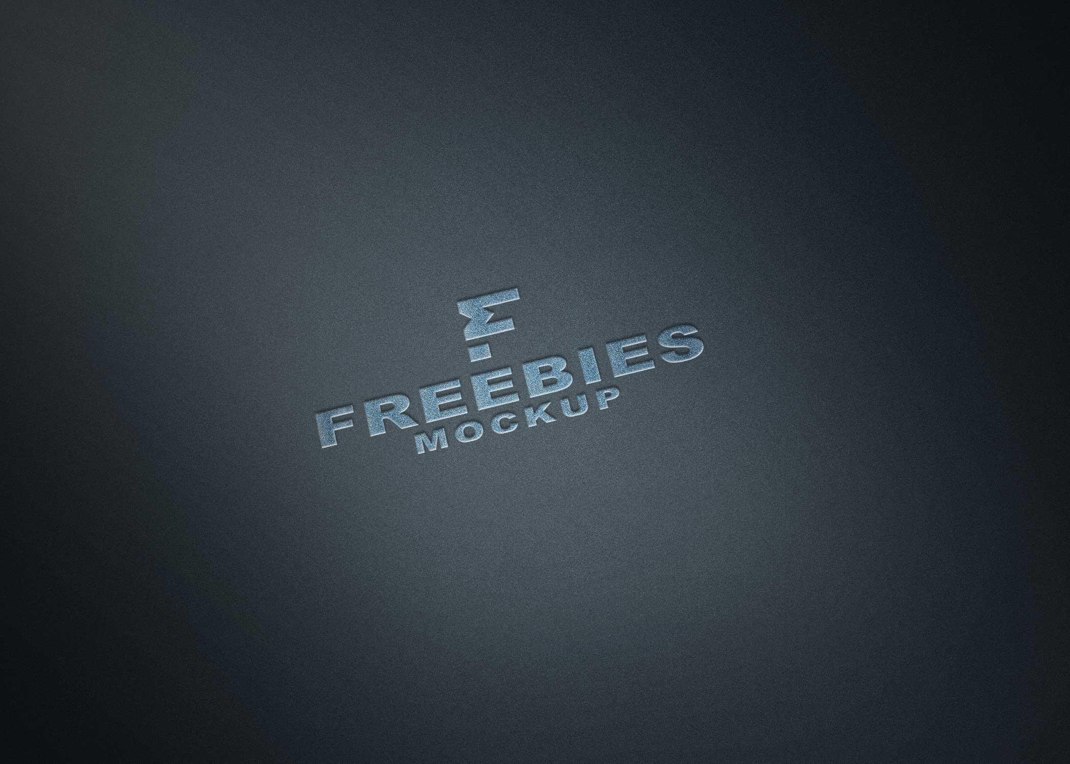 Freebies Plain New Logo Mockup