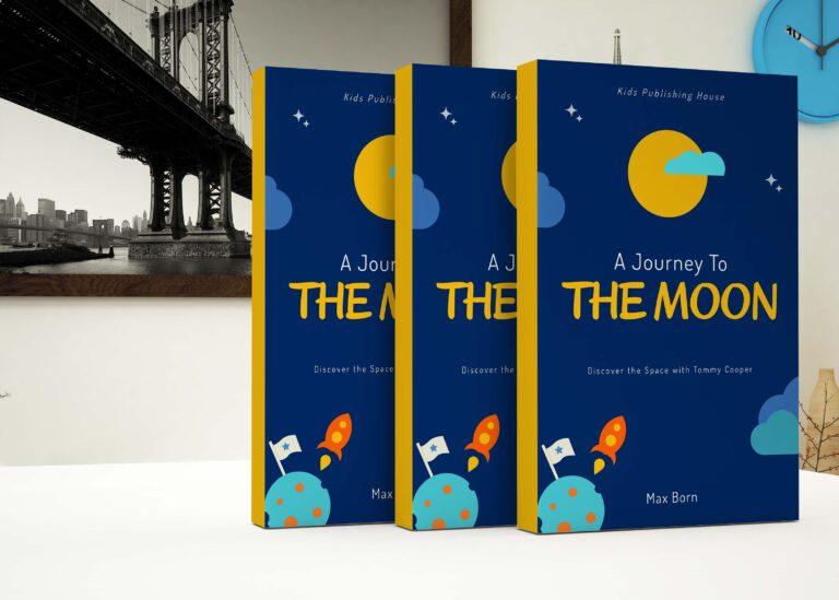 Print Book Cover Mockup