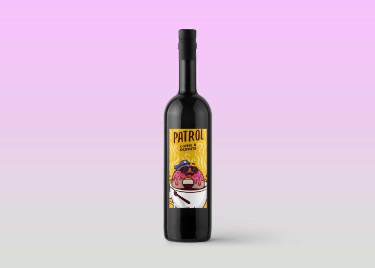 Solo Wine Bottle Mockup