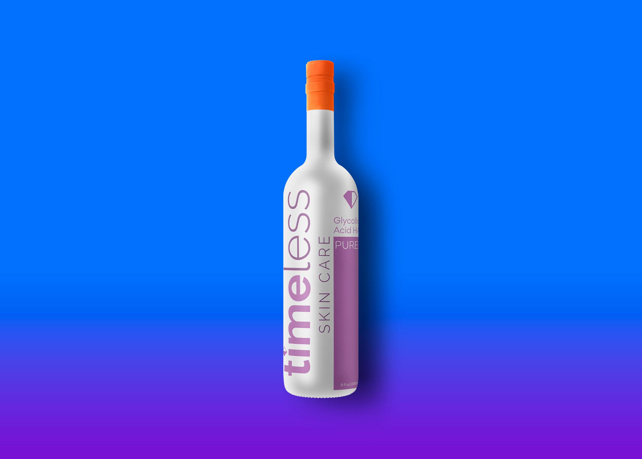 Freebies Wine Bottle Label Mockup