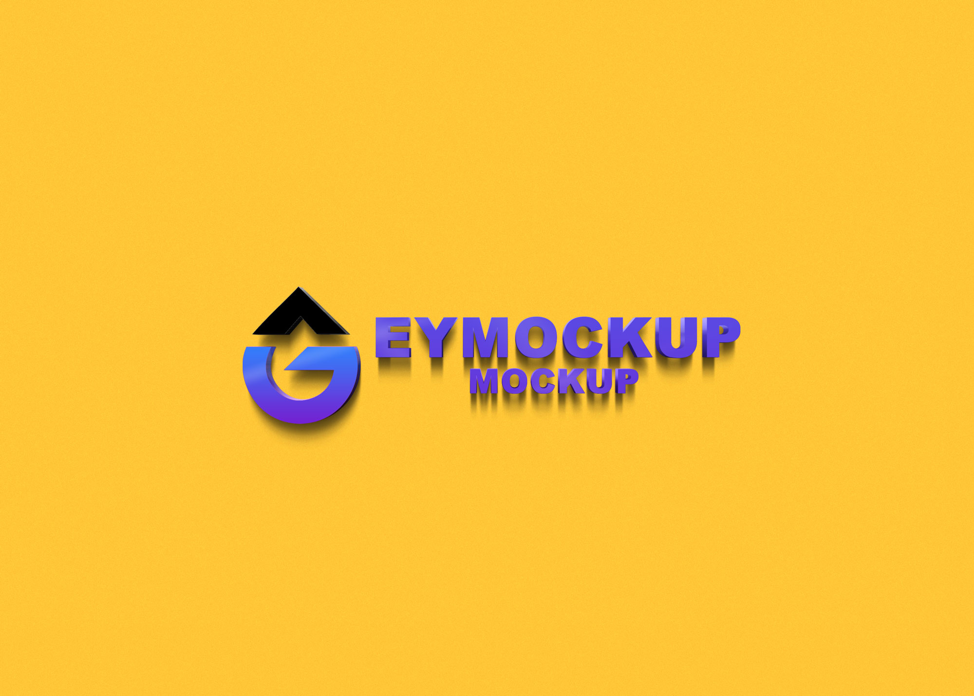 Latest 3D Logo Mockup