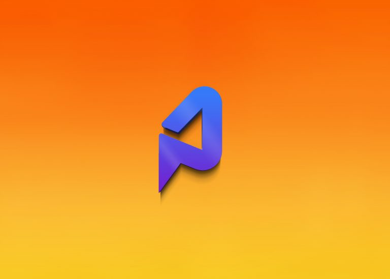 Clean 3D Logo Mockup
