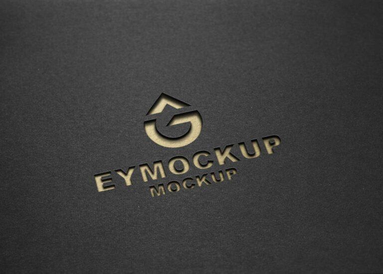 New Cutout Logo Mockup