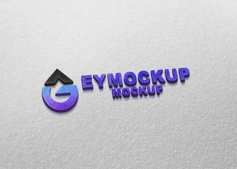 New Freebies Logo Mockup