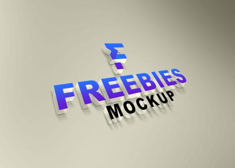 Transparent Logo Mockup