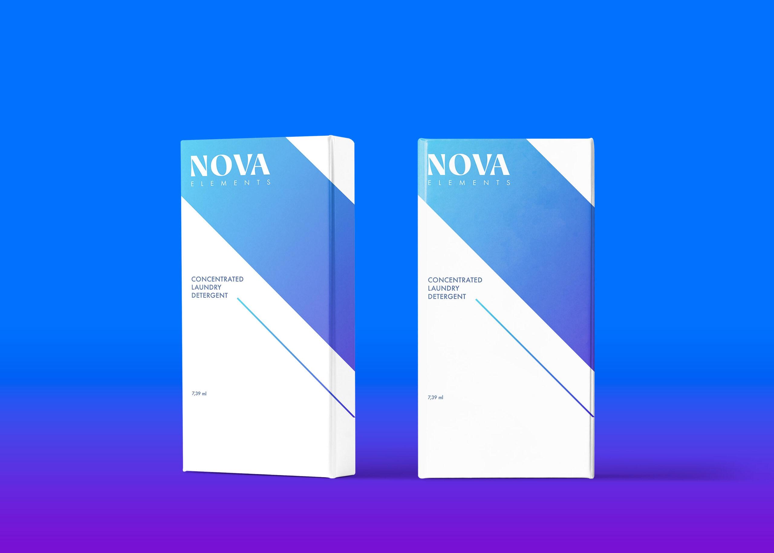 Nova Packaging Box Mockup