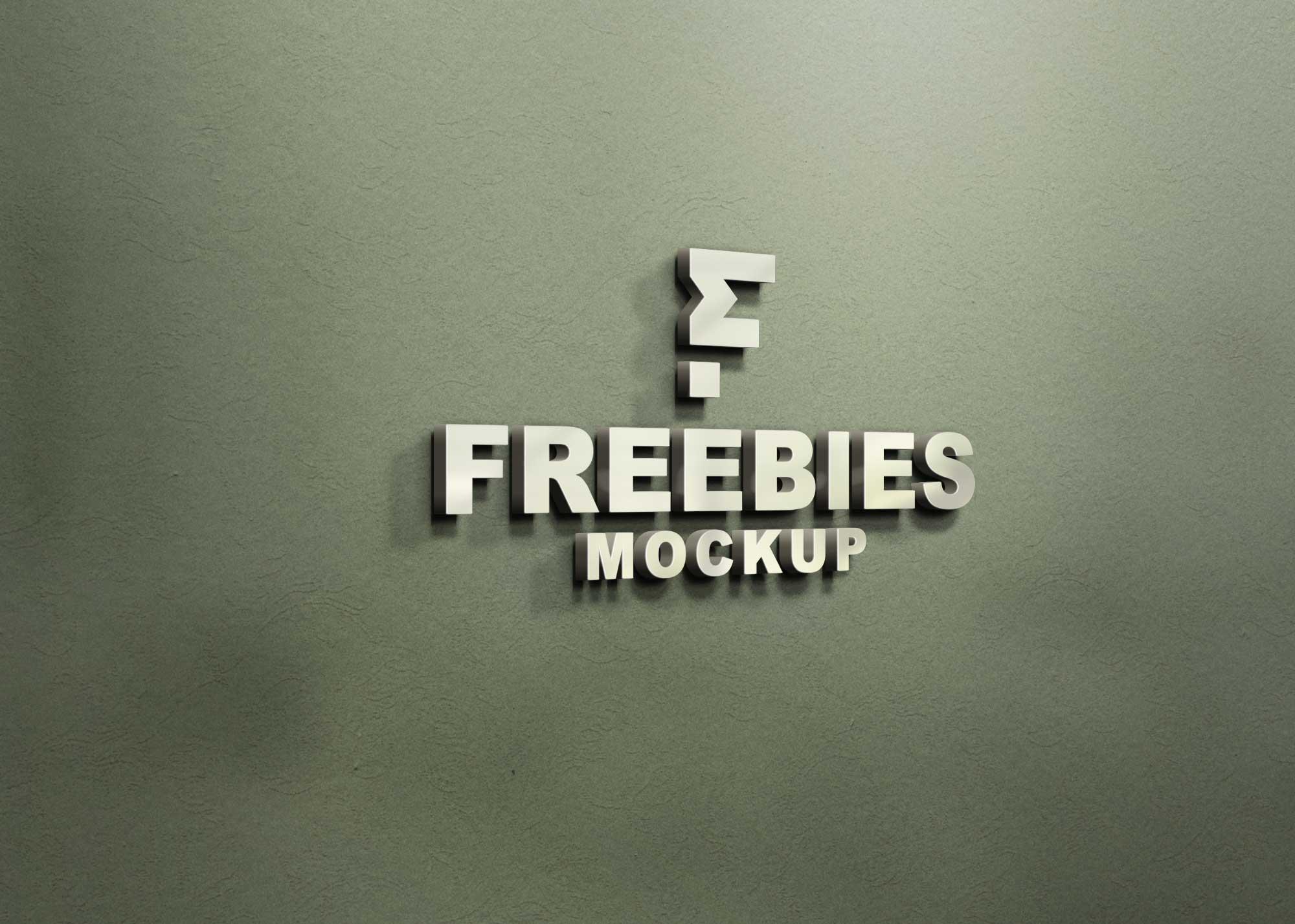 Opaque Logo Mockup
