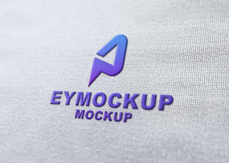 Plain Clothes Embossed Logo Mockup