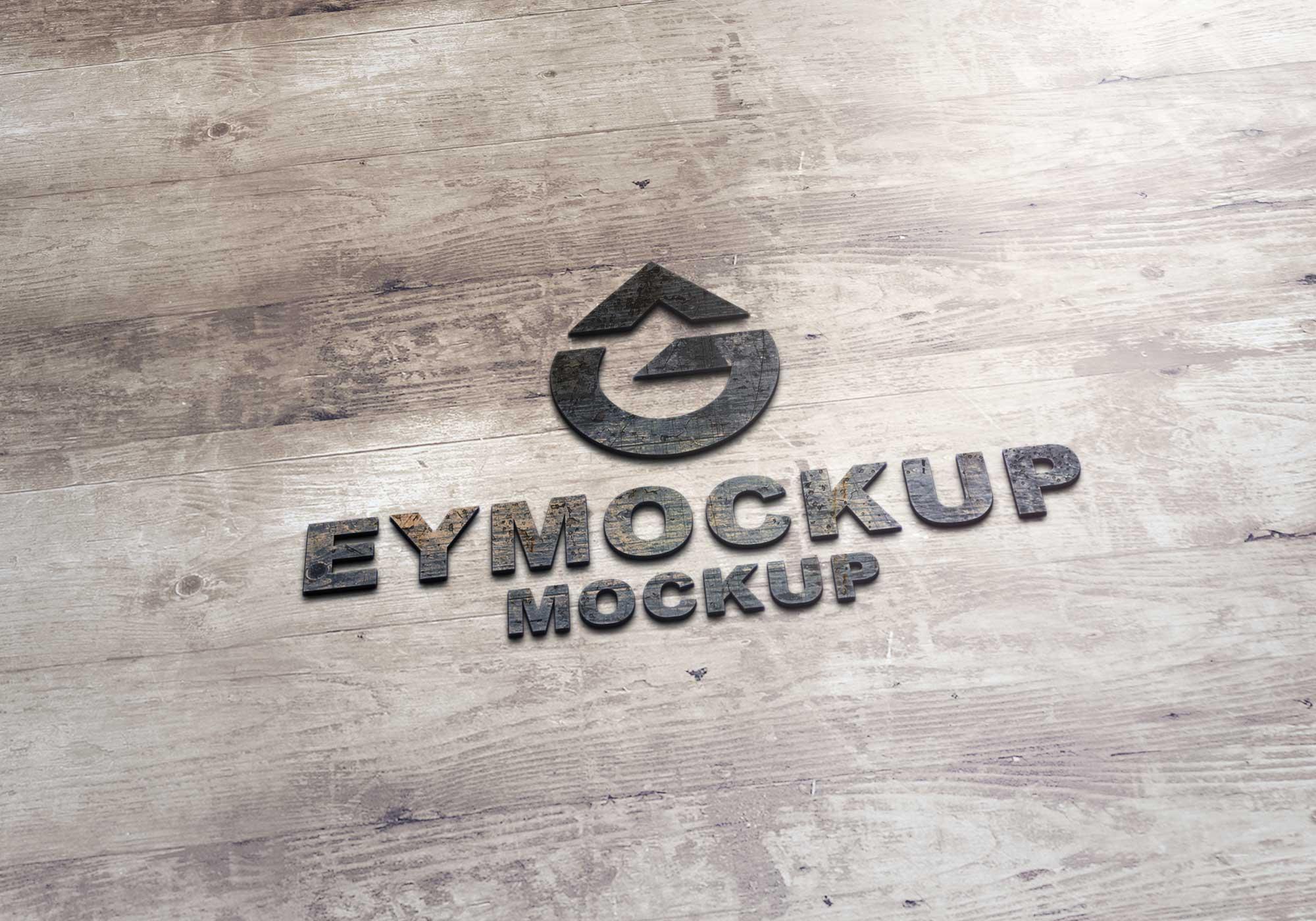Plywood Logo Mockup