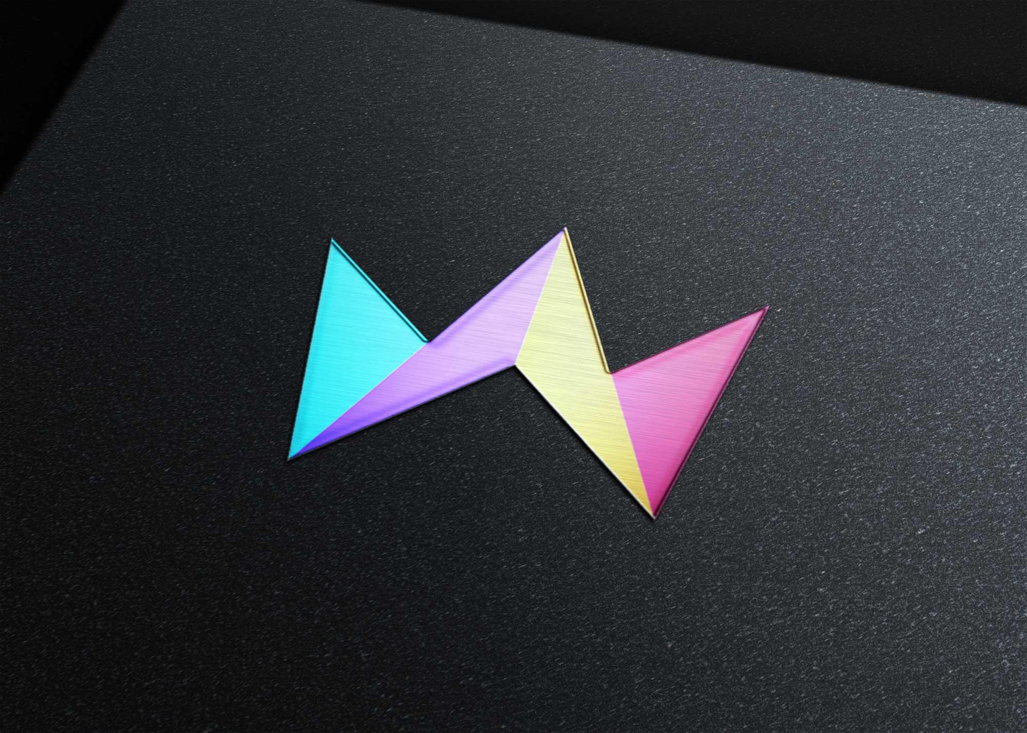 Popular 3D Logo Mockup