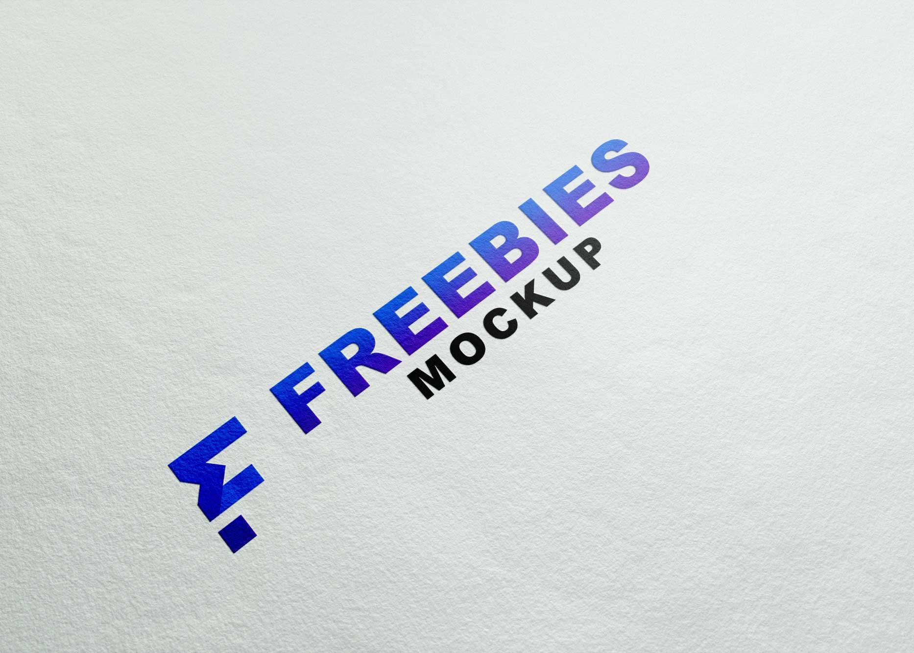 Premium Quality Logo Mockup