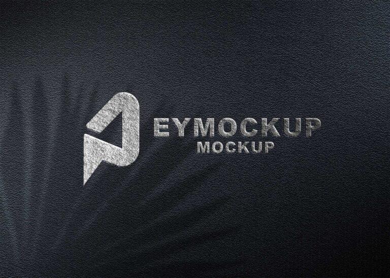 Silver Freebies Logo Mockup