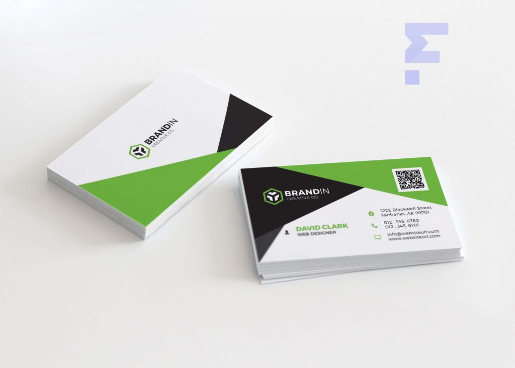 Free Business Card For App