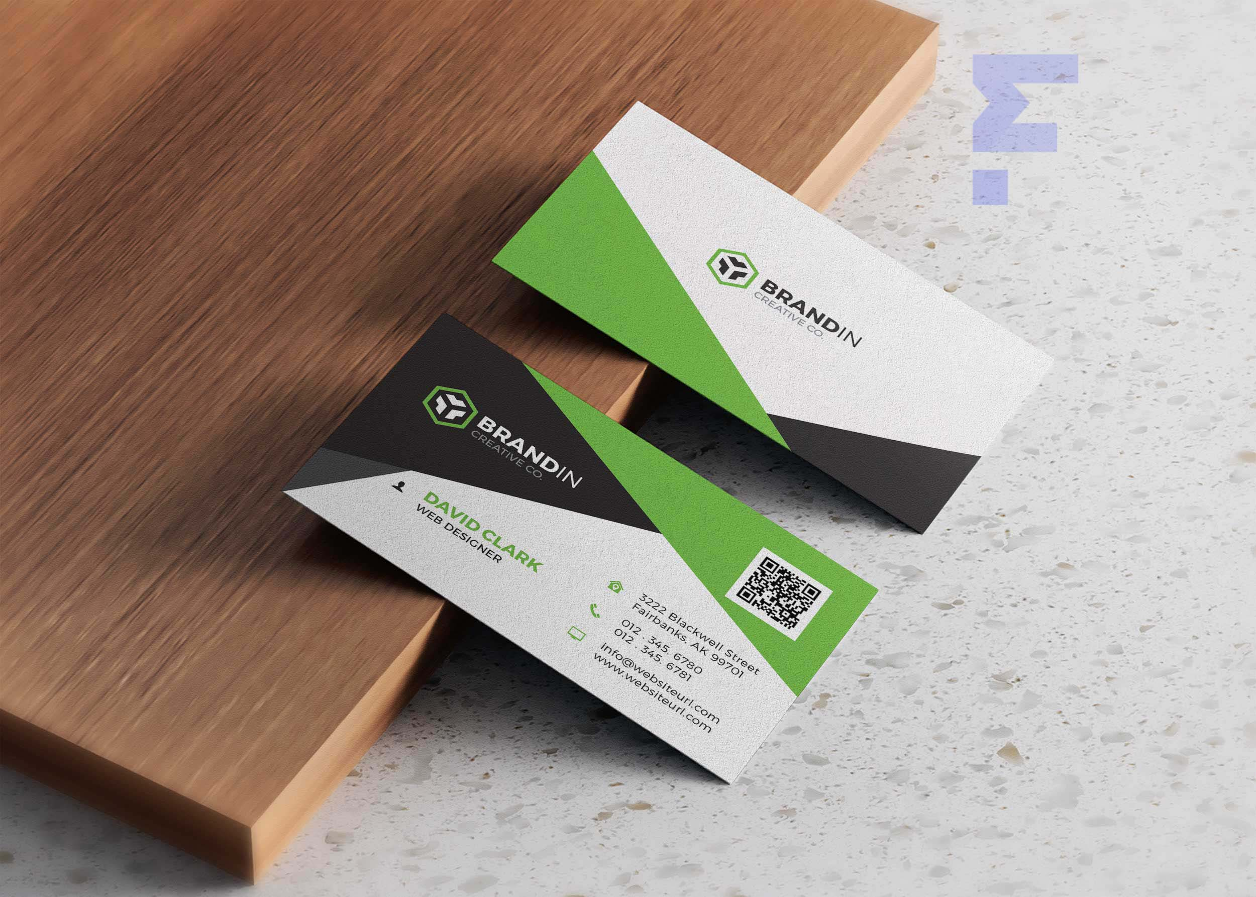 Free Business Card Design For App
