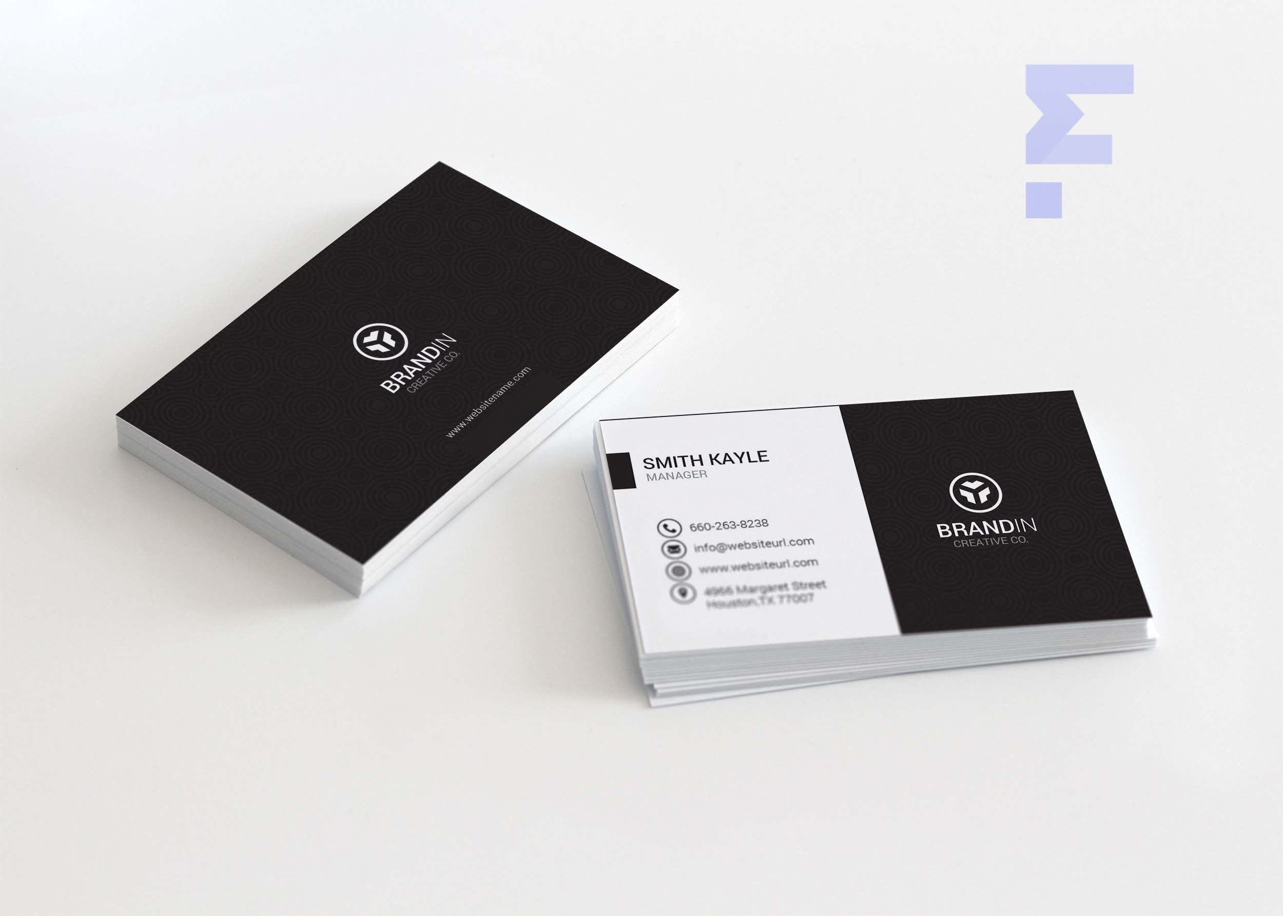 Free Business Card Design Template