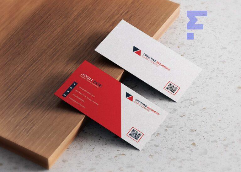 Free Minimalist Business Card Design