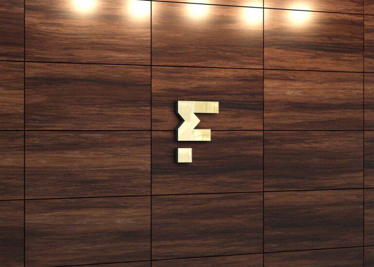 Free Abstract 3D Logo Mockup