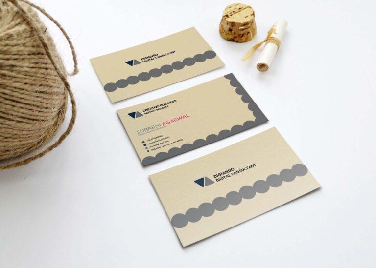 Free Artistic Business Card Design