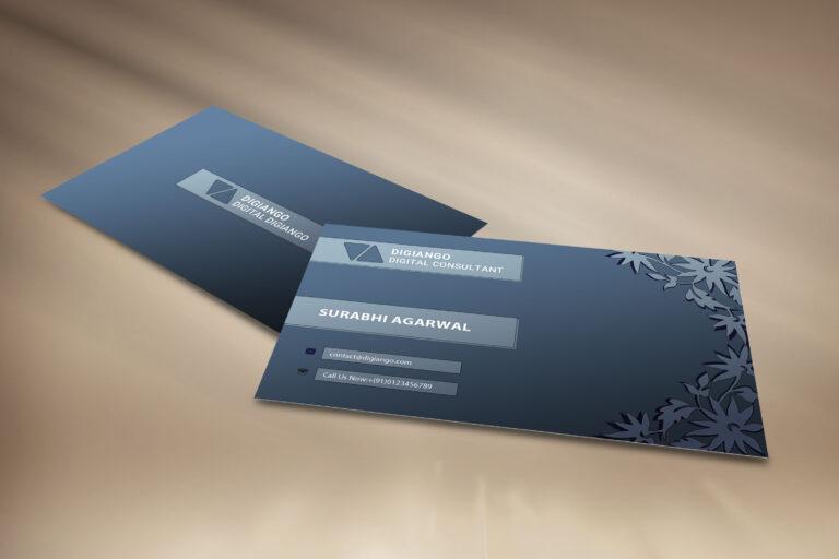 Free Ash Business Card Design