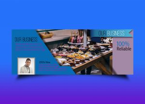 Free Bakery Business Banner Template