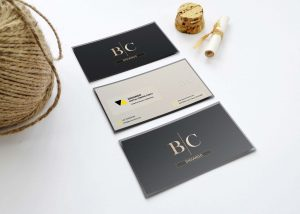 Free Brown Bc Business Card Design