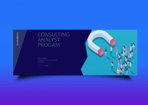 Free Business Consulting Analyst Fb Cover