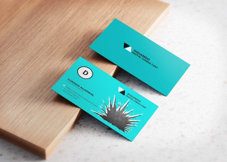 Free Cracking Business Card design