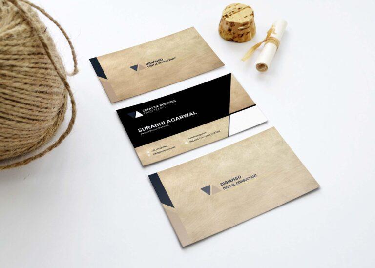 Free Creamic Business Card Design