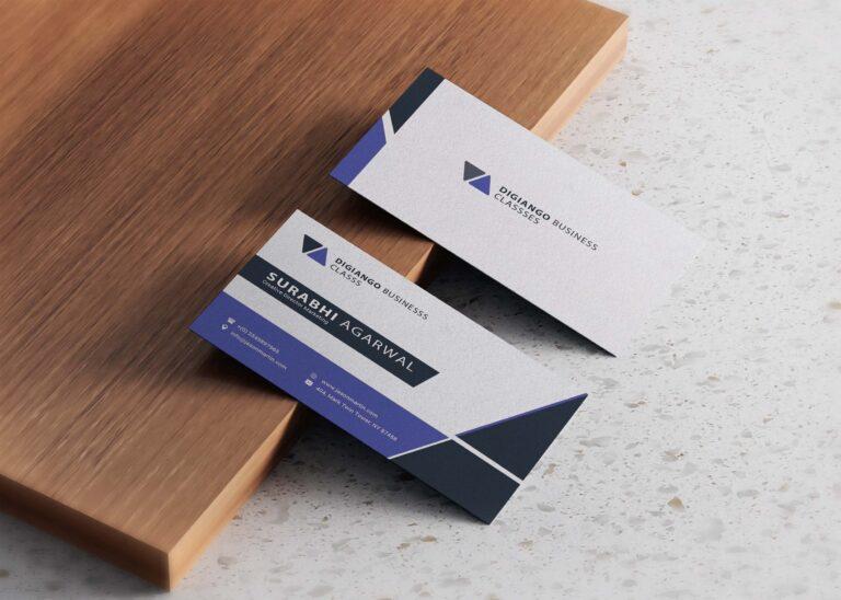 Free Digiango Professional Business Card Design
