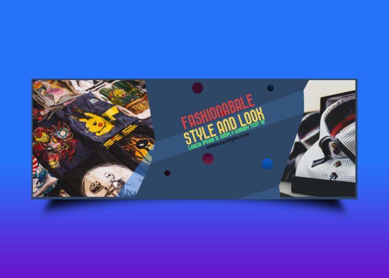 Free Fashion Store FB Cover Design