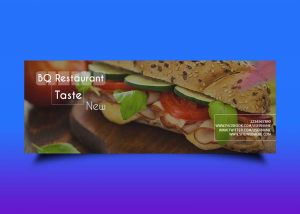 Free Food Style Facebook Banner