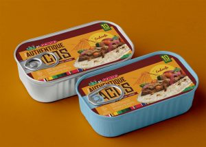 New Food Container Tin Can Mockup