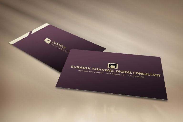 Free Gold Premium Business Card Design