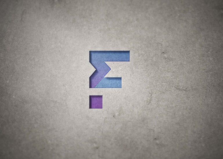 Free Gold Rising 3D Logo Mockup