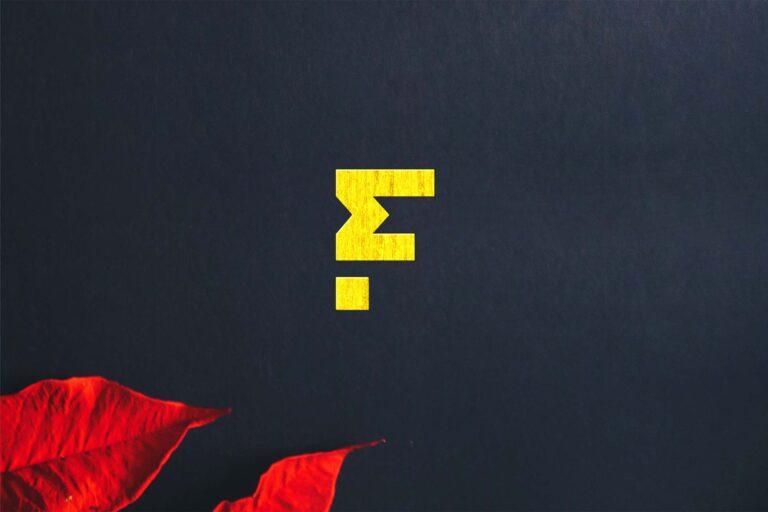 Free Gold Yellow Logo Mockup