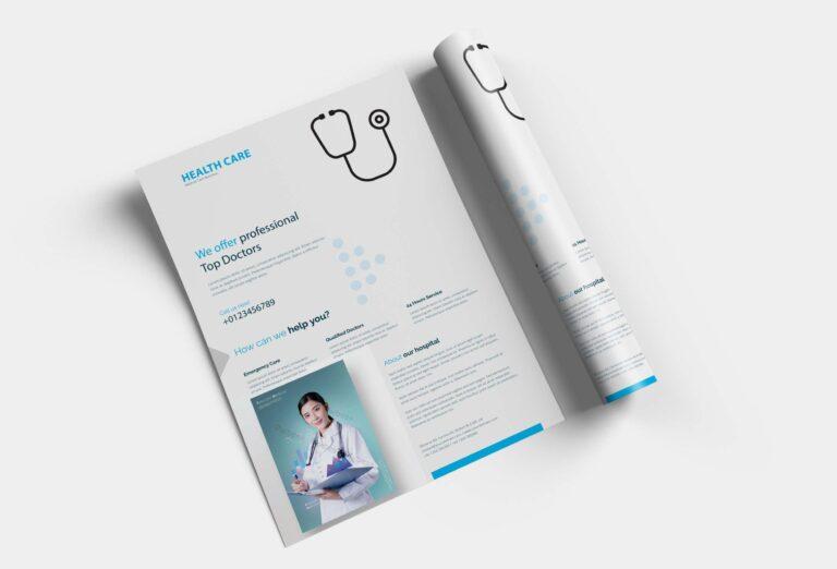 Free Health Care Poster Design